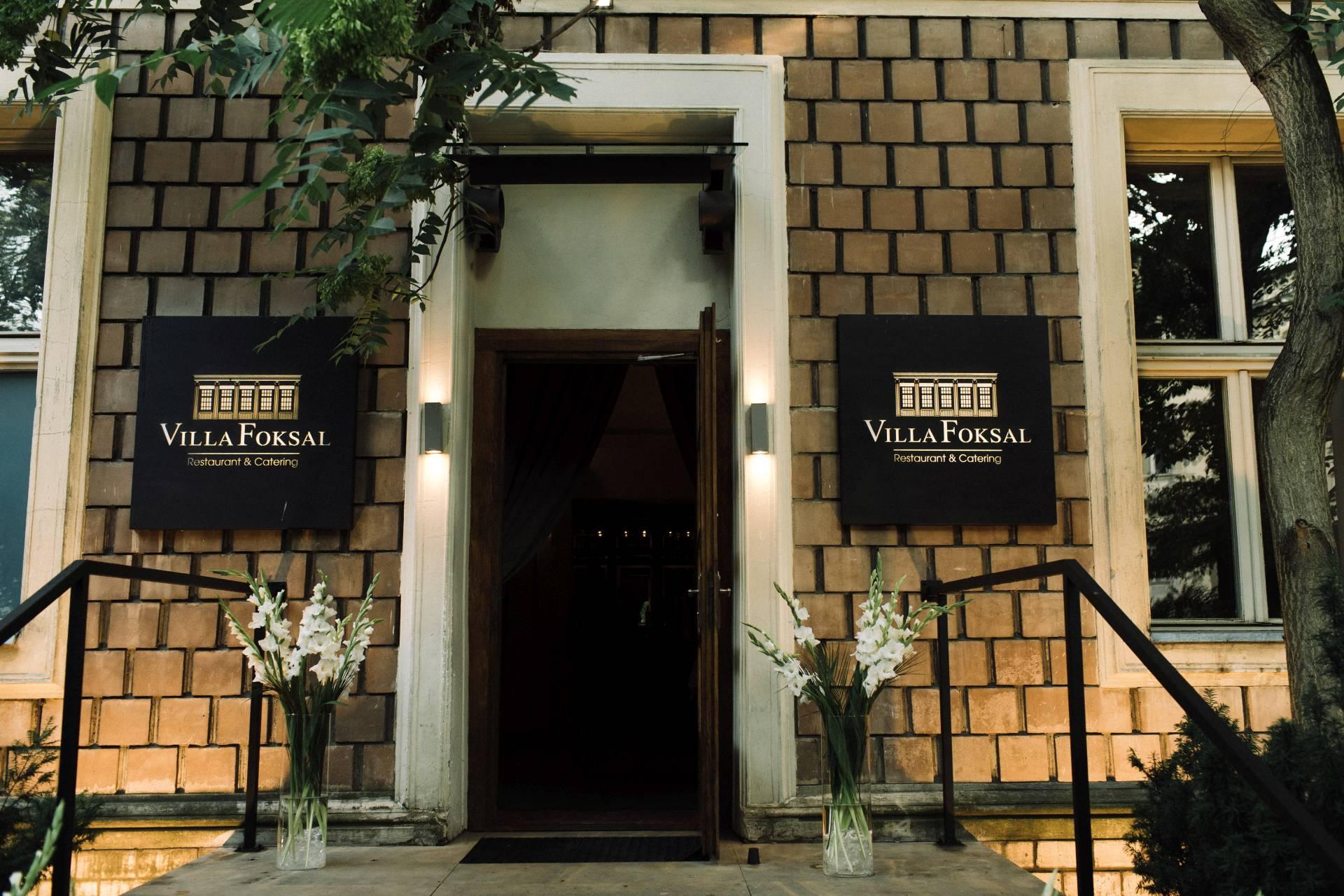 restauracja villa foksal
