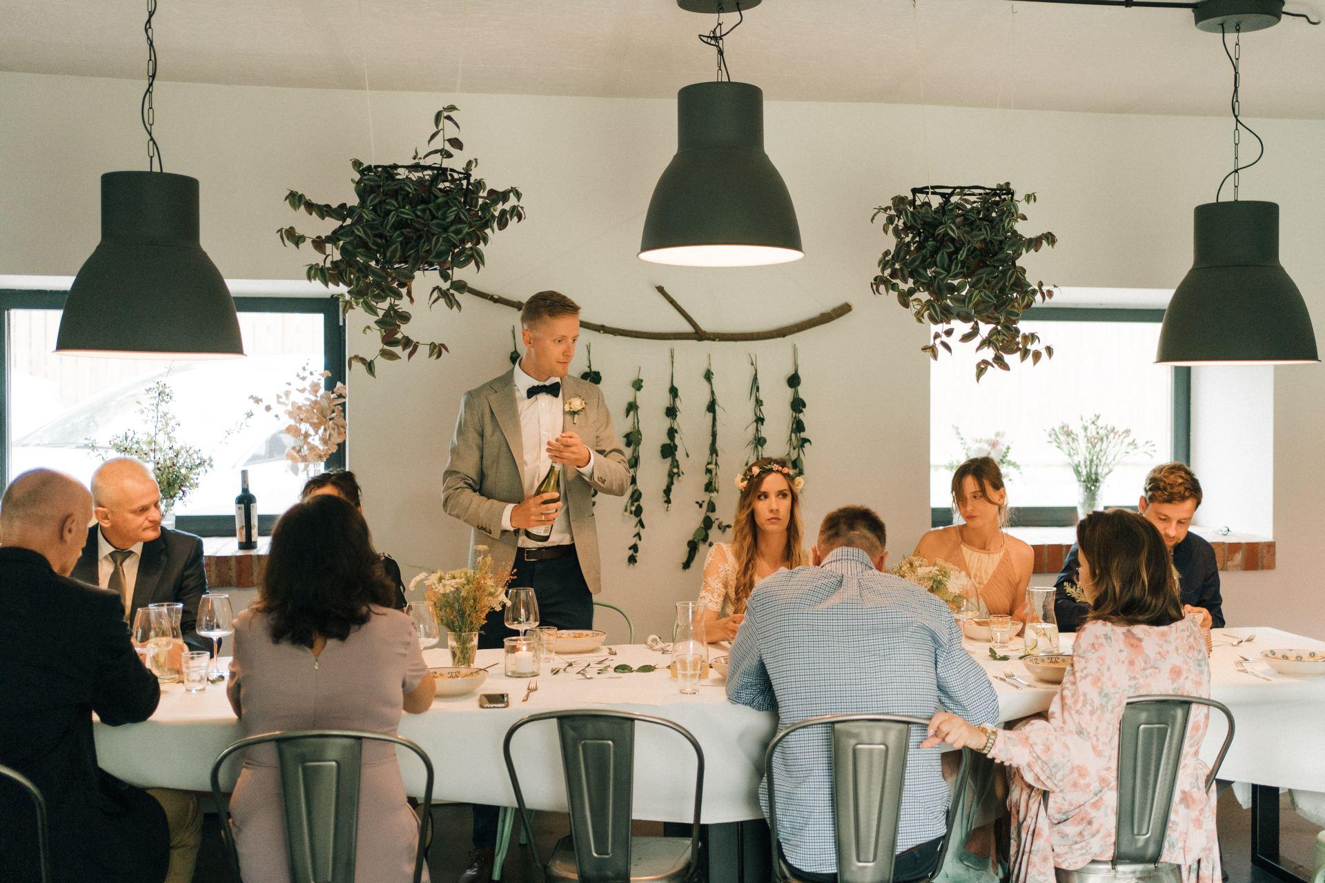 małe przyjęcie zamiast wesela