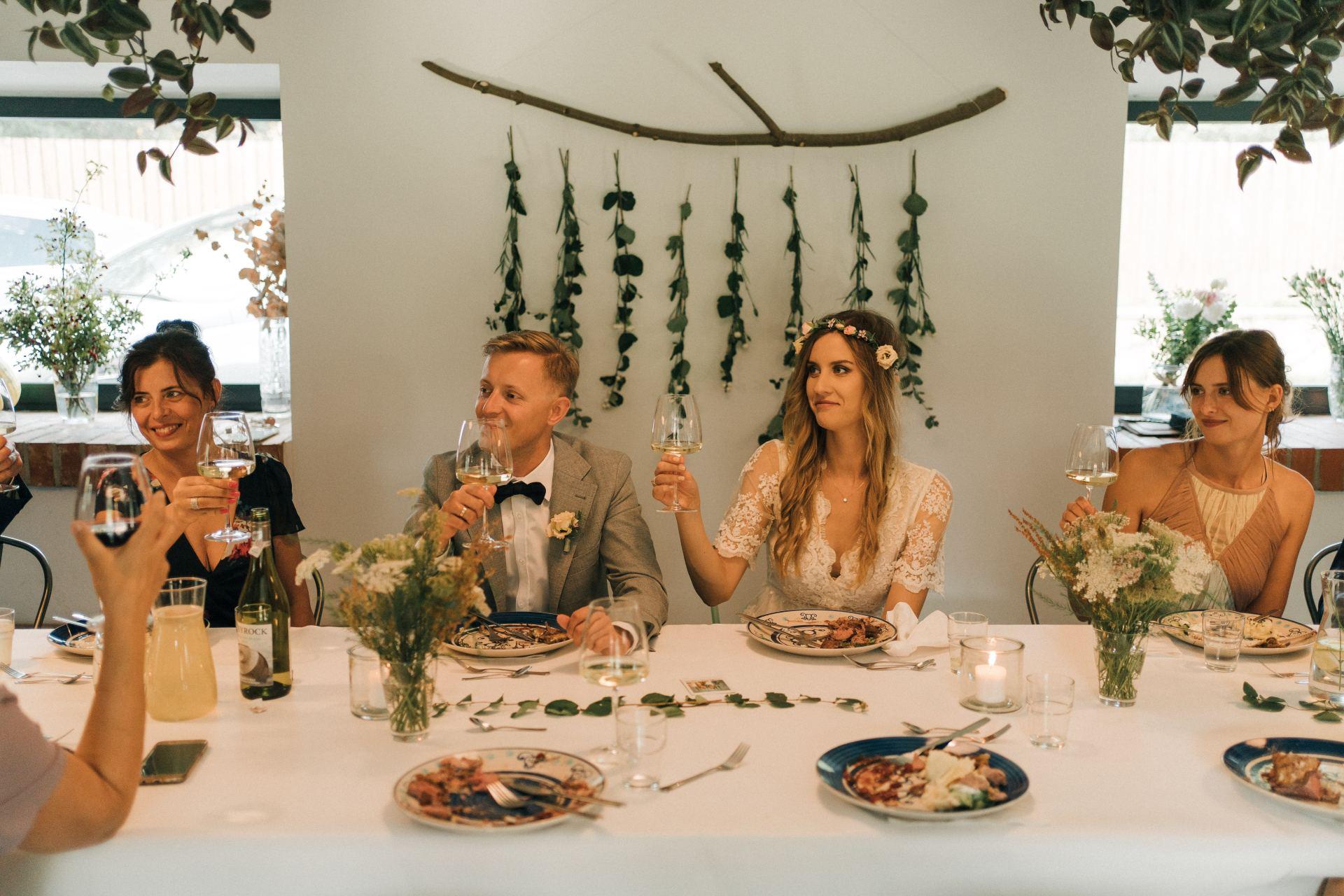 kameralne wesele obiad zamiast wesela