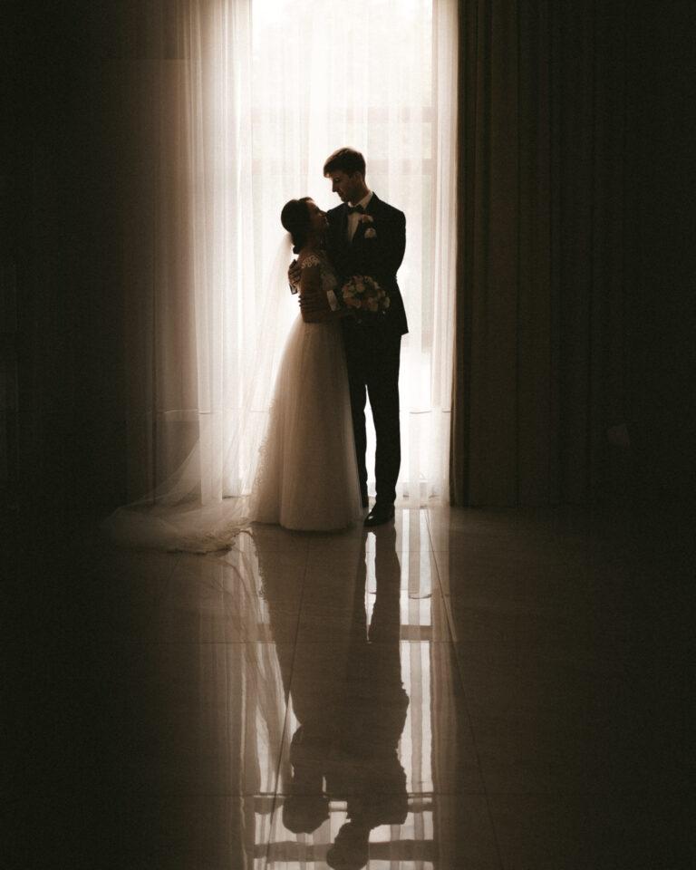 zdjęcie ślubne z sali