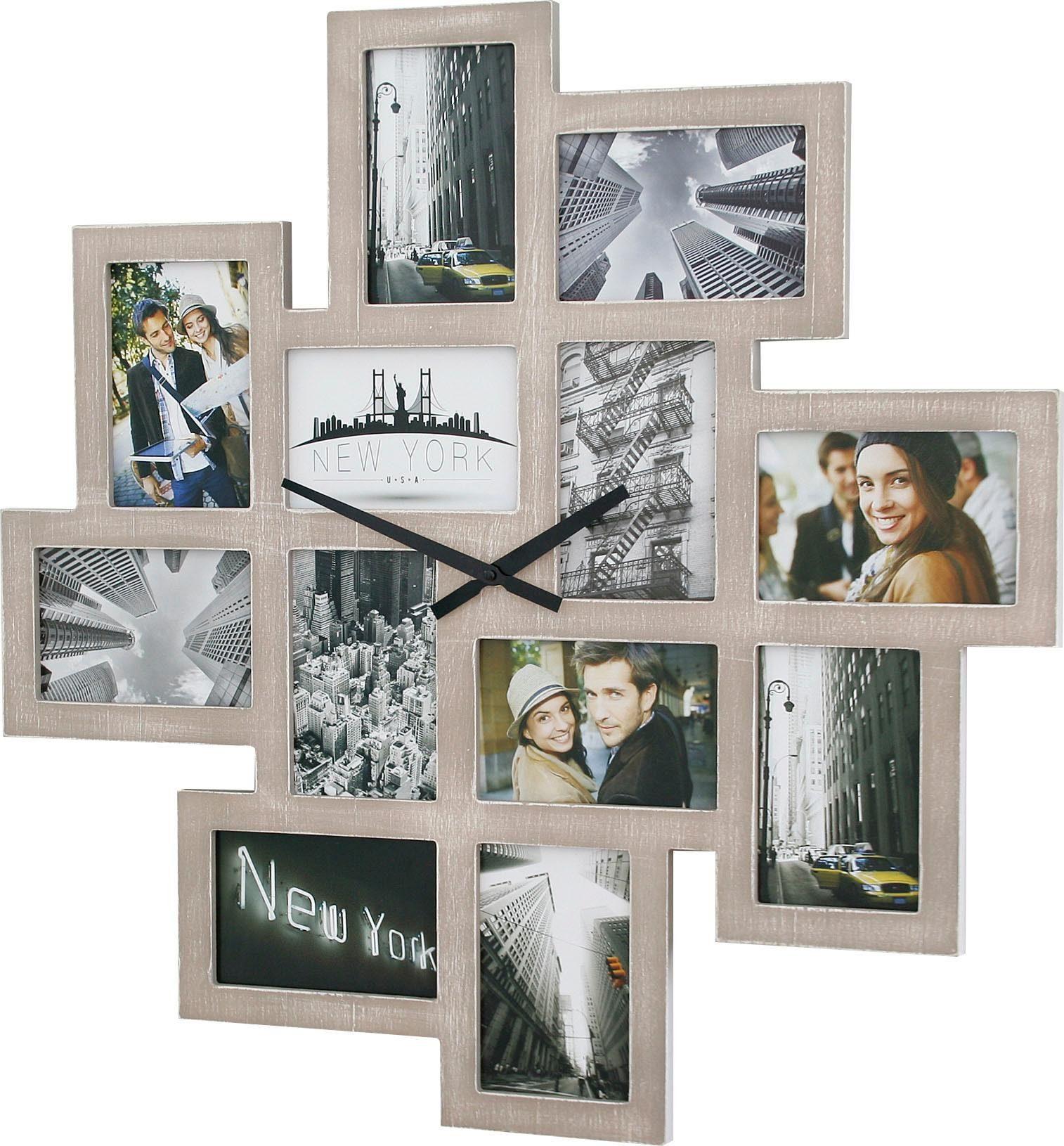 zegar ze zdjęciami
