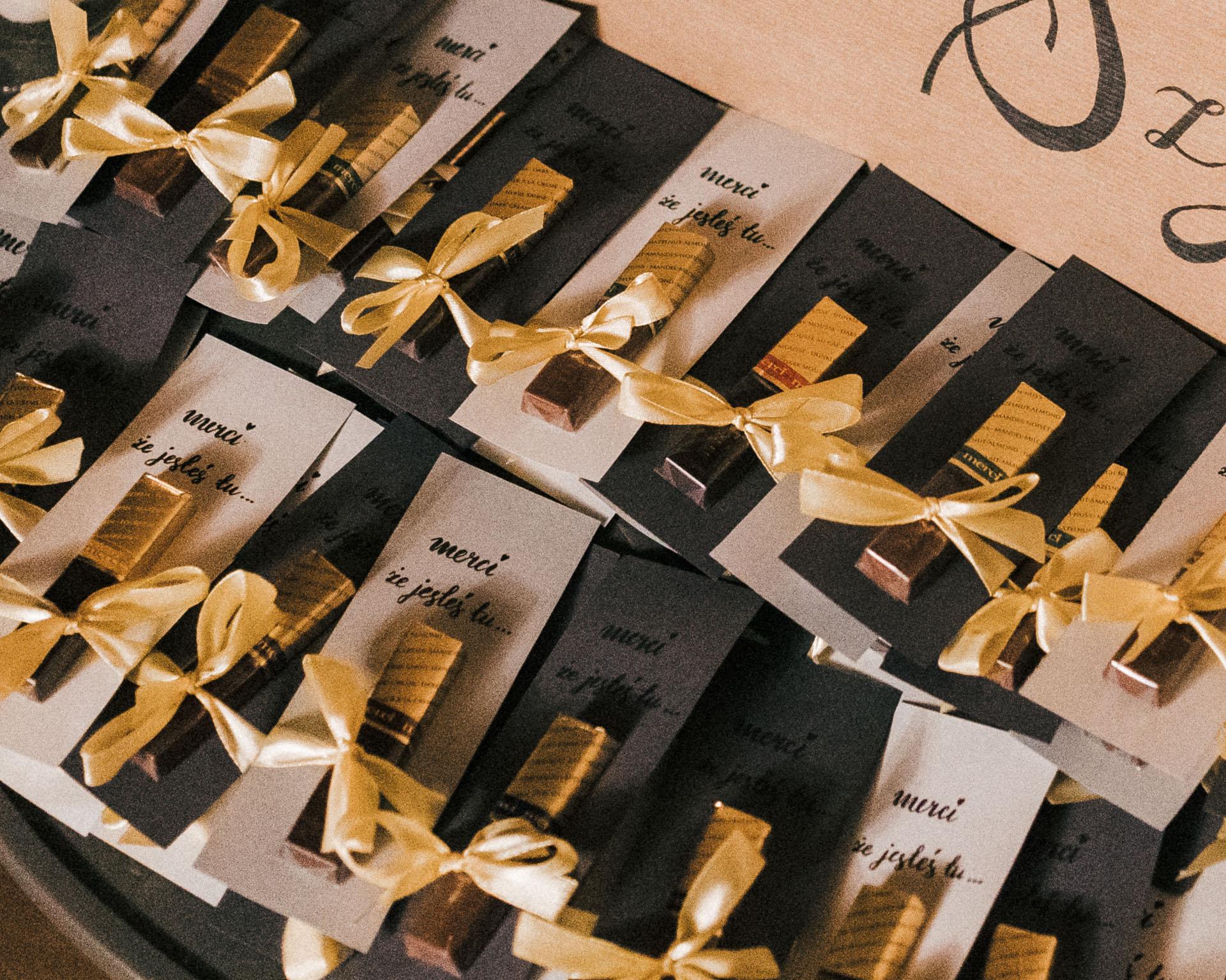 prezenty dla gości weselnych merci
