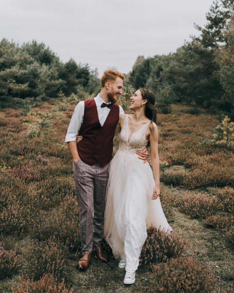 zdjęcia ślubne w stylu boho